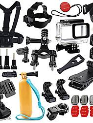 Недорогие -Аксессуары Кит На открытом воздухе Всё в одном Эластичный 1 pcs Для Экшн камера Все Gopro 5 Xiaomi Camera Спорт DV SJCAM Отдых и Туризм Катание на лыжах Повседневный Пластик ПК ABS / SJ4000