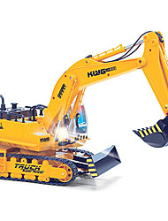 cheap -RC Car HUINA 1310 11 Channel 2.4G Excavator / Excavating Machinery 1:16 Brush Electric Remote Control / RC / Rechargeable / Electric