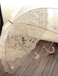 "cheap -Hook Handle Wedding / Special Occasion / Masquerade Umbrella Umbrellas 38.2""(Approx.97cm)"