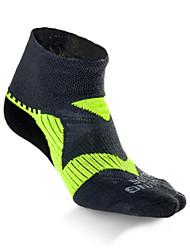 cheap -Compression Socks Athletic Sports Socks Running Socks 1 Pair Men's Women's Socks Ankle Socks Fitness, Running & Yoga Limits Bacteria Sports Running Sports Simple Cotton Chinlon Black Purple Blue