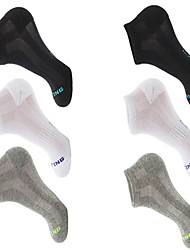 cheap -Compression Socks Athletic Sports Socks Running Socks 6 Pairs Men's Women's Socks Ankle Socks Fitness, Running & Yoga Limits Bacteria Sports Running Sports Simple Cotton Chinlon Nano Silver