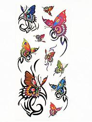 cheap -tattoo-stickers-totem-series-pattern-lower-back-waterproofwomen-men-teen-flash-tattoo-temporary-tattoos