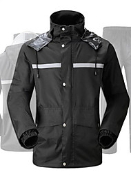 cheap -Motorcycle Clothes Rain coat for Women's Faux Linen All Seasons Waterproof / Simple / Odor Free