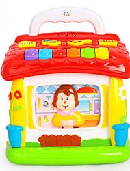 Недорогие -HUILE TOYS Аксессуары для кукольного домика Игрушка для обучения чтению Обучающая игрушка Пластик для Детские Дети Мальчики