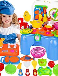 Недорогие -Игрушка кухонные наборы Игрушка Посуда и чайные сервизы Детская техника Кулинария Веселье Пластик Детские Игрушки Подарок