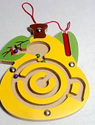 cheap -Maze Paternity Game Magnetic Maze 1 pcs Wooden Magnetic Duck Kid's Toy Gift