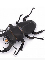 cheap -3D Puzzle Paper Model Model Building Kit Insect Beetle DIY Simulation Hard Card Paper Classic Kid's Unisex Boys' Toy Gift