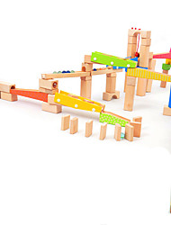 cheap -Marble Track Set Marble Run 1 pcs Wooden Boys' Girls' Kid's Toy Gift