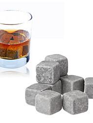 Недорогие -9шт набор виски камни лед куб вина шампанское рок кулер бар