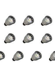 cheap -10pcs 7W 780lm GU10 LED Spotlight 1 LED Beads COB Dimmable Warm White / Cold White 110-220V