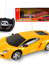 cheap -RC Car LBGN 2 Channel 2.4G Car / Racing Car / High Speed 1:24 Brushless Electric 50 km/h Remote Control / RC / Rechargeable / Electric