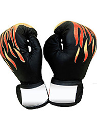 cheap -Boxing Bag Gloves Boxing Training Gloves For Boxing Muay Thai Full Finger Gloves Adjustable Adjustable Size Ergonomic PU Leather Unisex - Black Red