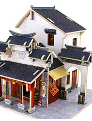 cheap -3D Puzzle Chinese Architecture Fun Classic Kid's Toy Gift