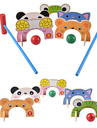 cheap -Action Figure Balls Racquet Sport Toy Fun Natural Wood Classic Kid's Unisex Toy Gift