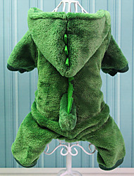 cheap -Dog Costume Winter Dog Clothes Warm Costume Cotton Animal Cosplay XS S M L XL XXL