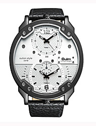 Недорогие -Муж. Спортивные часы Модные часы Уникальный творческий часы Повседневные часы Китайский Кварцевый Натуральная кожа ГруппаЧерный