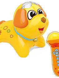 cheap -Dollhouse Accessory Educational Toy Dog Drum Set Plastics for Kid's