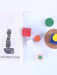 Недорогие -Конструкторы Игры с блоками Обучающая игрушка Баланс Классика Детские Игрушки Подарок