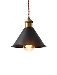 cheap -Vintage Mini Pendant Lights Industrial 1-Light Metal Shade Dining Room Hallway Kitchen Cafe Bars Lighting