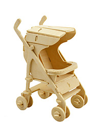 cheap -3D Puzzle Wooden Model Wooden Kid's Adults' Boys' Girls' Toy Gift
