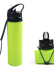 cheap -Travel Mug / Cup / Water Bottle Sports Water Bottle Camping Cup Sport Bottle Collapsible for Outdoor Camping / Hiking Fishing Outdoor Exercise Green Blue Pink