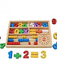 Недорогие -Конструкторы Игрушки для обучения математике Обучающая игрушка Квадратный Экологичные Классика Детские Игрушки Подарок