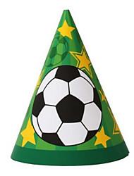Недорогие -3D пазлы Мячи Настольный футбол Футбол Своими руками Плотная бумага Классика Детские Универсальные Игрушки Подарок