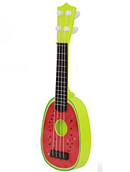 abordables -Accessoire de Maison de Poupées Guitare Fruit Simulation Plastique Enfant Jouet Cadeau