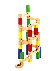 Недорогие -Настольные игры Треки для шариков 1 pcs деревянный Мальчики Девочки Детские Игрушки Подарок
