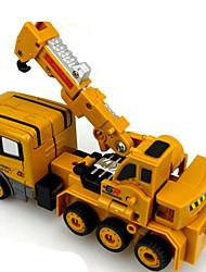 Недорогие -Робот Игрушечные машинки Машина Робот трансформируемый Металлический сплав Железо для Универсальные Мальчики