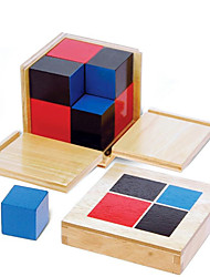 cheap -Montessori Teaching Tool Building Blocks Educational Toy Square Education Kid's Toy Gift