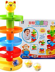 cheap -Balls Marble Track Set Plastics Educational Boys' Girls' Kid's Toy Gift