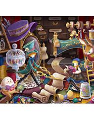 Недорогие -Замок Знаменитое здание Мультяшная тематика Пазлы Головоломка для взрослых Огромный деревянный Взрослые Игрушки Подарок