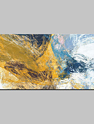 cheap -Oil Painting Hand Painted Abstract Abstract Modern Canvas Rolled Without Frame