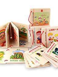 Недорогие -Игрушка для обучения чтению Веселье Дерево Детские Универсальные Игрушки Подарок