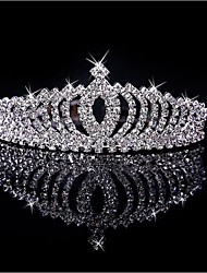 cheap -Brass / Rhinestone / Alloy Tiaras with 1 Wedding / Birthday / Party / Evening Headpiece