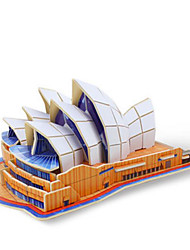abordables -Robotime Puzzles 3D Puzzle Kit de Maquette Bâtiment Célèbre Opéra de Sydney En bois Unisexe Jouet Cadeau