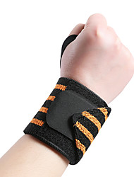 cheap -Exercise Bands / Resistance bands Armband / Choker for Taekwondo Ski / Snowboard Ice Skating Hand Wash Only Muscle support hand wash Elastic 1pc Dailywear Sport Casual Black Sky Blue Orange