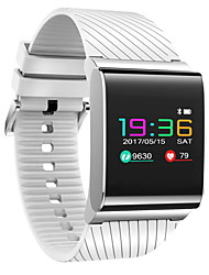 cheap -Smart Bracelet Smartwatch for iOS / Android Heart Rate Monitor / Blood Pressure Measurement / Calories Burned / Long Standby / Touch Screen Pedometer / Call Reminder / Activity Tracker / Sleep
