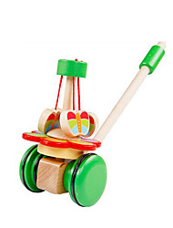 cheap -Toy Cars Building Blocks Trolley Toy Toys Fun Wooden Wood Children's Pieces