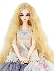 cheap -Synthetic Wig Kinky Curly Kinky Curly Wig Blonde Dark Blonde Synthetic Hair Women's Blonde miss u hair / Doll Wig