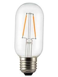 cheap -1pc 2 W LED Filament Bulbs 180 lm E26 / E27 T45 2 LED Beads COB Decorative Warm White 220-240 V / 1 pc / RoHS