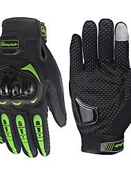 Недорогие -мотоцикл бронированная перчатка велосипедные велосипедные гоночные перчатки мотоцикл полные пальцы нескользящие перчатки