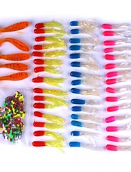 cheap -101 pcs Lure Packs Jig Head Floating Sinking Bass Trout Pike Bait Casting Plastic