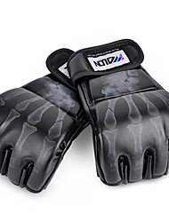 cheap -Boxing Training Gloves For Boxing Safety Unisex - Black White