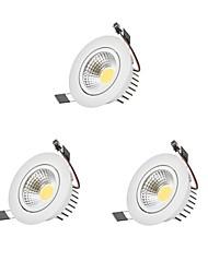 cheap -9 W 1 LED Beads Dimmable LED Downlights 110-220 V Children's Room Living Room / Dining Room Bedroom / 3 pcs