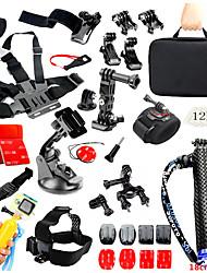 cheap -Kit Accessories 1 pcs For Action Camera Gopro 6 All Gopro Xiaomi Camera SJCAM SJ4000 Ski / Snowboard Climbing Universal PVC(PolyVinyl Chloride) Velcro PC / SJ5000 / SJCAM SJ7000 / SJCAM SJ7000