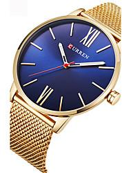 Недорогие -Для пары Эксклюзивные часы Спортивные часы Наручные часы Кварцевый Черный / Серебристый металл / Золотистый Защита от влаги Творчество Аналоговый Дамы Кулоны На каждый день Мода Элегантный стиль -