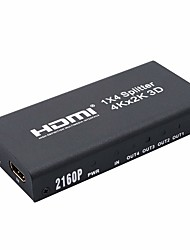 cheap -HDMI 1.4 Splitter, HDMI 1.4 to HDMI 1.4 Splitter Female - Female 4K*2K Gold-plated copper 10 Gbps