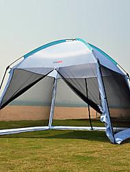 Недорогие -7 человек Палатка с экраном от солнца Дом с экраном от солнца На открытом воздухе Дожденепроницаемый Ультрафиолетовая устойчивость Защита от пыли Однослойный Палатка 1000-1500 mm для Отдых и Туризм